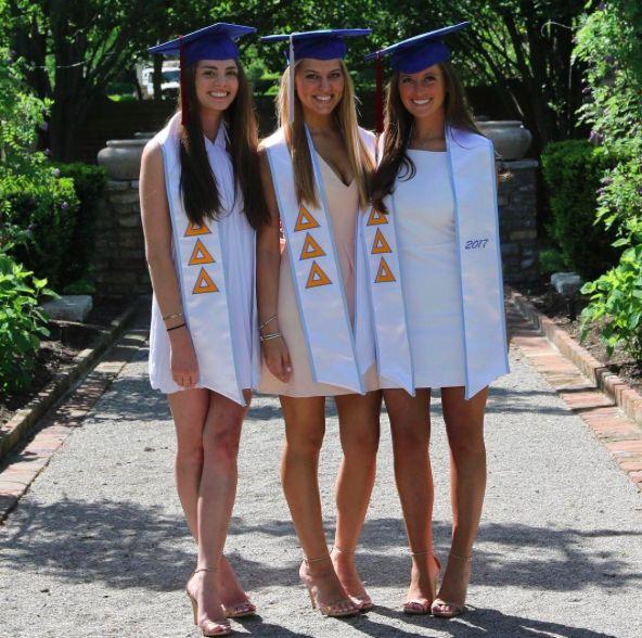 Delta Delta Delta at University of Kentucky #DeltaDeltaDelta #TriDelta #graduation #sorority #Kentucky