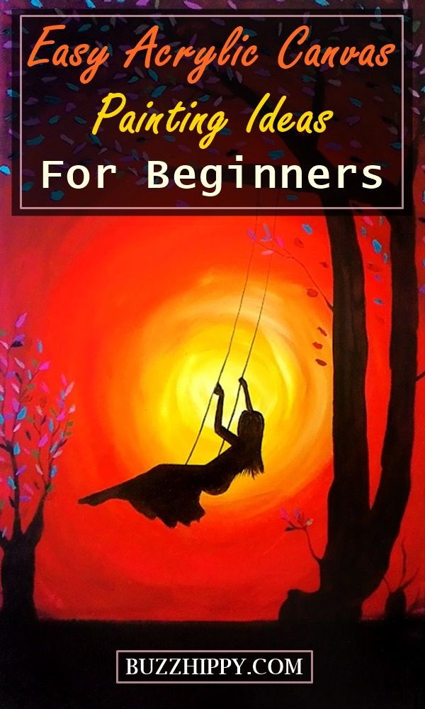 80 Easy Acrylic Canvas Painting Ideas For Beginners 2020 Updated Canvas Painting Images Canvas Painting Flower Painting Canvas