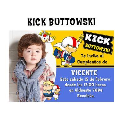 invitaciòn kick buttowski