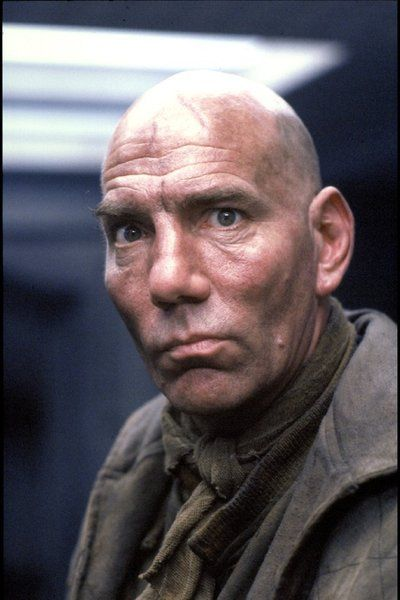 Pete Postlethwaite.. a still from from Alien 3. RIP Pete. You added gravitas to every movie in which you appeared. I see your face come onscreen and I know something interesting, and maybe even important is about to happen. I may be stretching the definition of Movie Star by including you on this board, but you were one terrific actor.