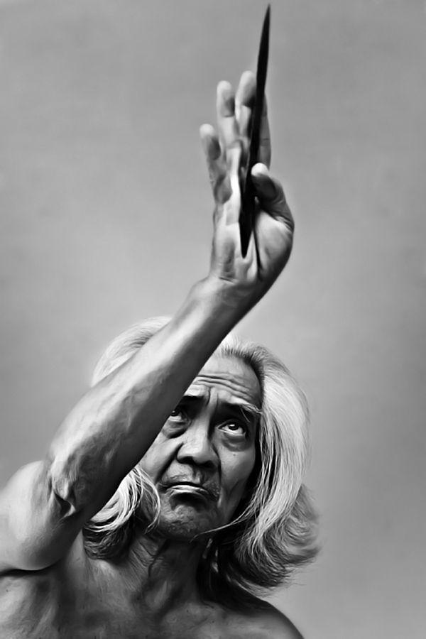 Grand Master Mas Pung of Merpati Putih (Silat)