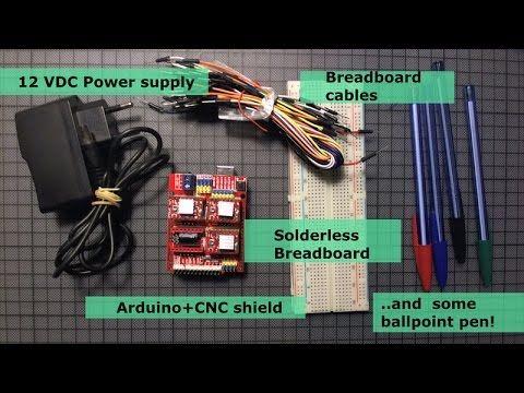 A DIY Arduino project- Making a Mini CNC Pen  Plotter