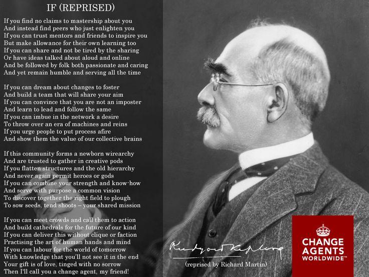 Rudyard Kipling reprised by Richard Martin