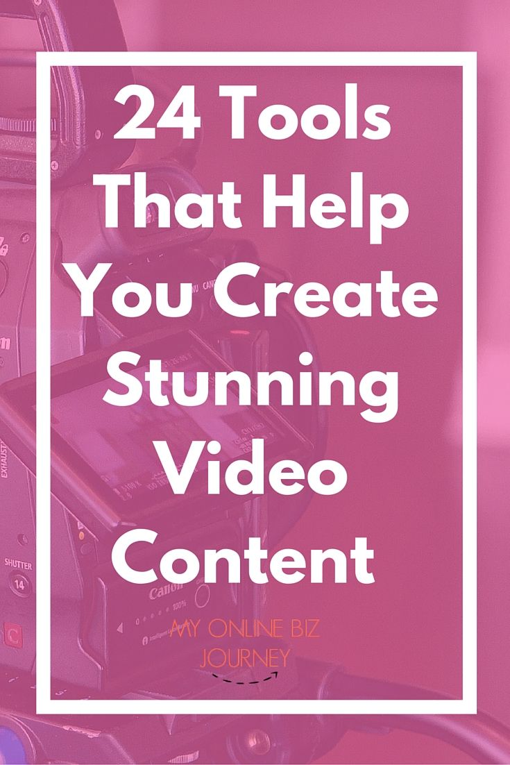 If you're a content creator of any sort and have not created any videos, consider this post official permission for you to start creating, educating, entertaining and getting your message out there with video. Here are 24 inexpensive video tools to help you achieve that.