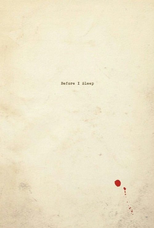 Before I Sleep (2013)