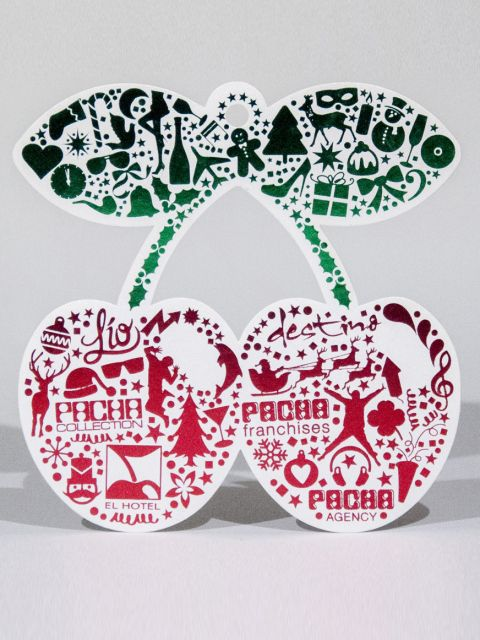 Pacha Ibiza Christmas present Designed By Maximiliano Guzmán Wilkendorf