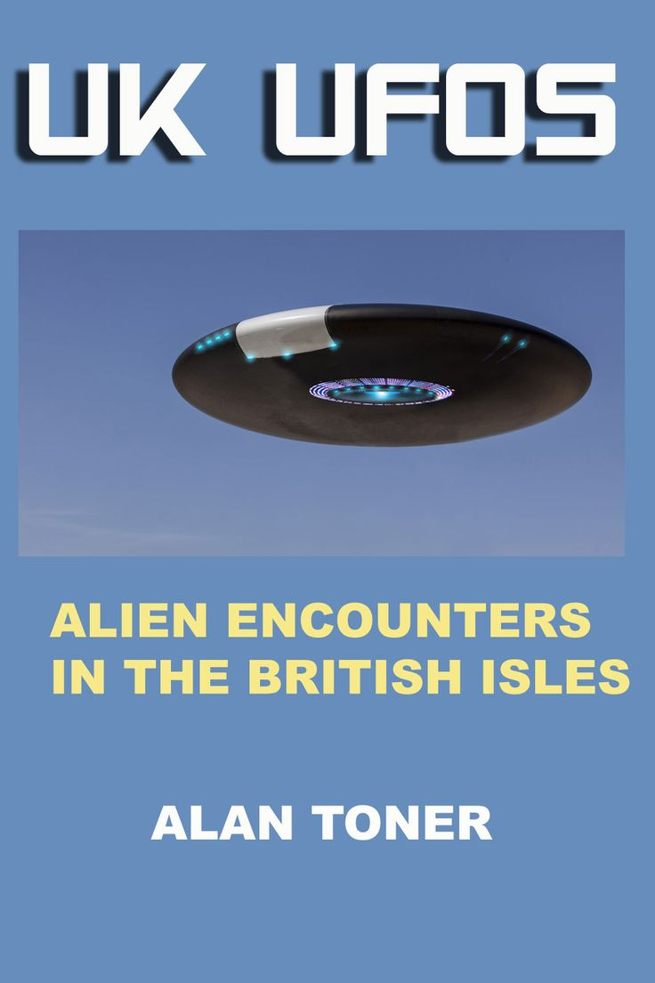 Cover of my book UK UFOs, now available in both Kindle and paperback editions on Amazon.