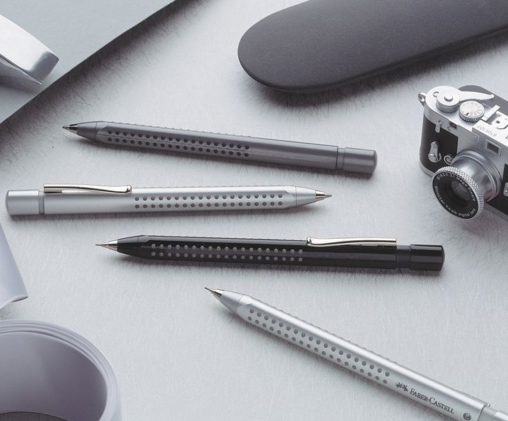 Our GRIP collection contains not only wodden black lead pencils but also ballpoints and mechanical pencils. #pencils #ballpointpen #minox #fabercastell #GRIP