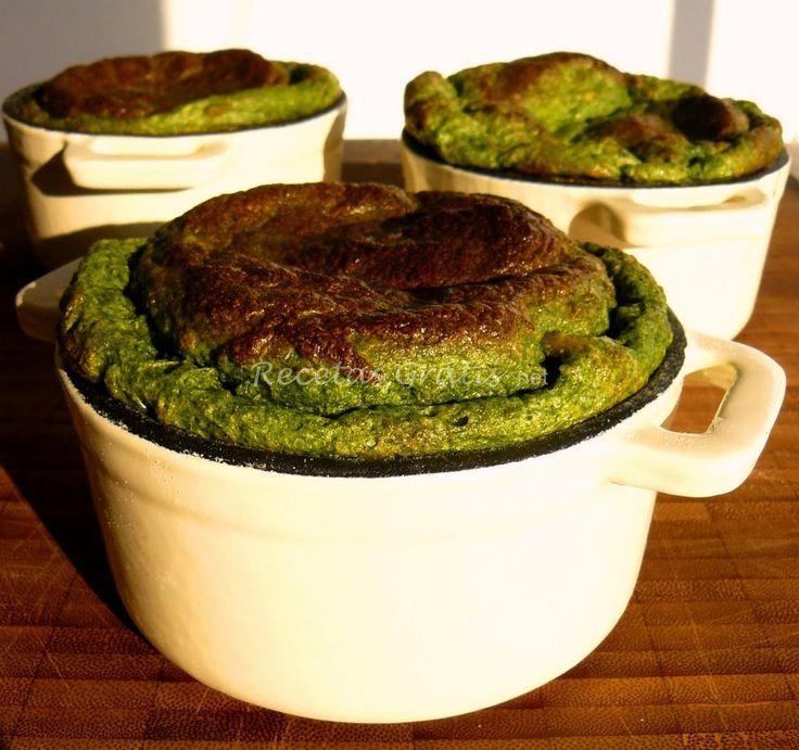 Receta de Soufflé de espinacas light http://www.recetasgratis.net/Receta-de-Souffle-espinacas-receta-28527.html: