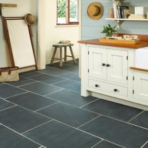 Quality Rustic Black Slate Tiles for Kitchen Floors from Italian Tile and Stone Dublin