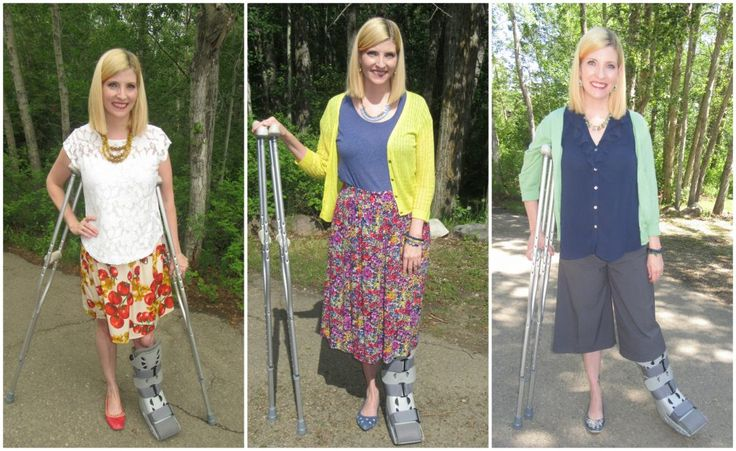 What To Wear After Bunion Surgery Or With An Air Cast Boot
