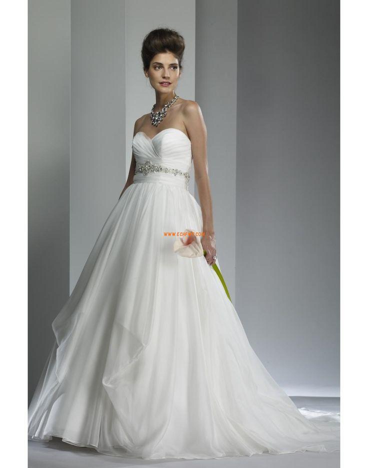 Jiskra a záře Přesýpací hodiny Elegantní & moderní Levné svatební šaty
