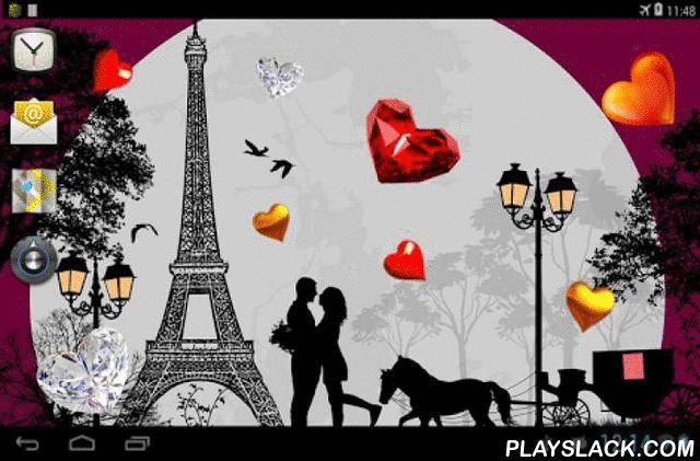 Valentine Paris Live Wallpaper  Android App - playslack.com , Valentine's day 2014 - lovers time. St. Valentine's day - celebration day of love and loving hearts. Hurry up to give your loved ones wishes - heart and kiss....Come live in my heart, and pay no rent.../Samuel Lover/Completely free interactive live wallpaper.Valentine Paris live wallpaper - Flawless combination of high-quality images, taken at a certain theme in landscape format.Additional advantage of these live wallpaper is the…