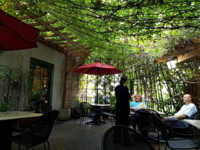 The Virginia Restaurant With The Most Enchanting Outdoor Patio
