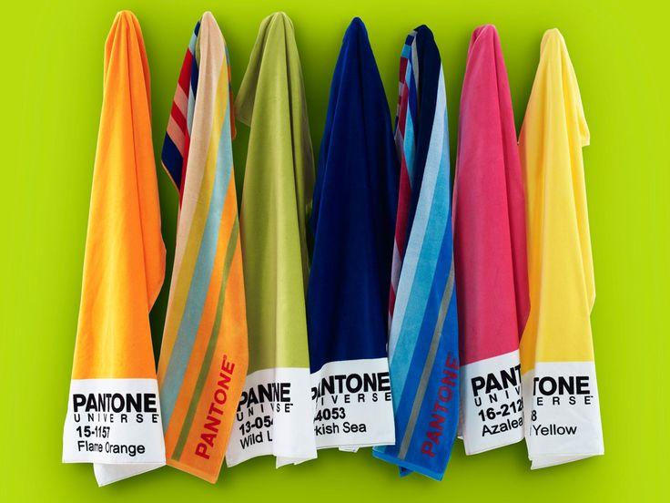 La nuova linea di teli da mare Pantone Universe di Bassetti Home Innovation, bellissima! stupendi #colori e qualità eccezionale! Disponibile anche nel nostro #storeonline http://www.carillobiancheria.it/telo-mare-bassetti-pantone-universe-in-spugna-m775-16324.html