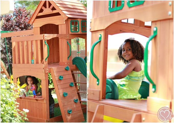 Outdoor Entertaining: Adventure Playsets Atlantis Wooden Swing Set from Walmart Review