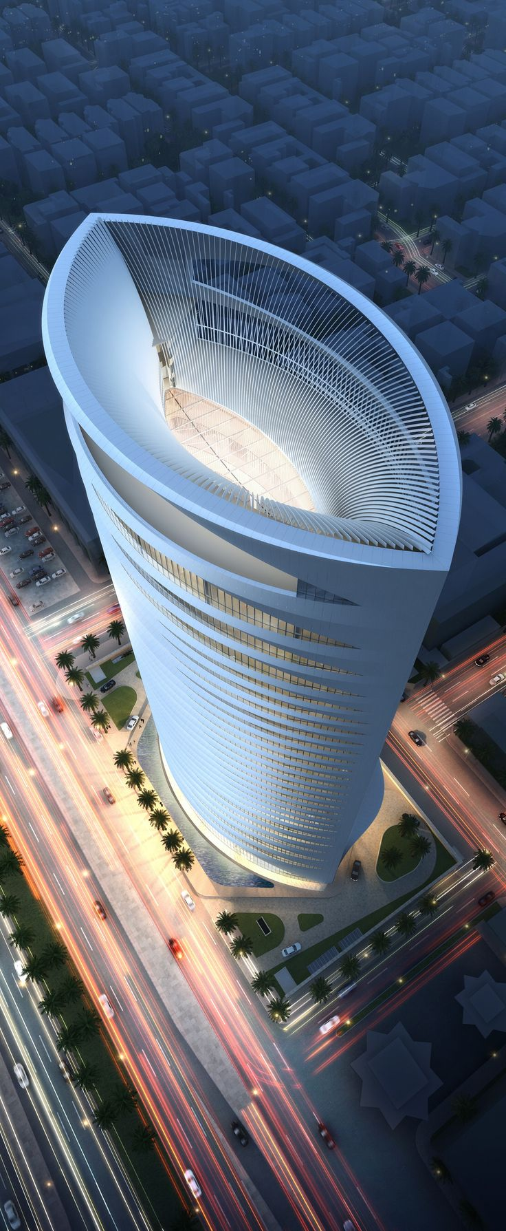Park Hyatt Riyadh, Saudi Arabia designed by Skidmore, Owings & Merrill