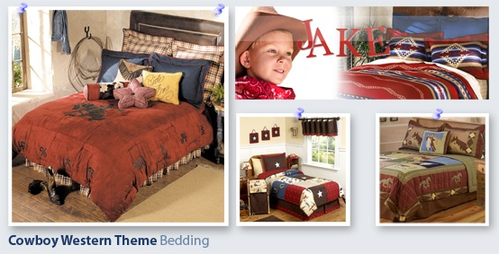 Kids Room Design: Article on How to Design a Kids Western Cowboy Theme Bedroom