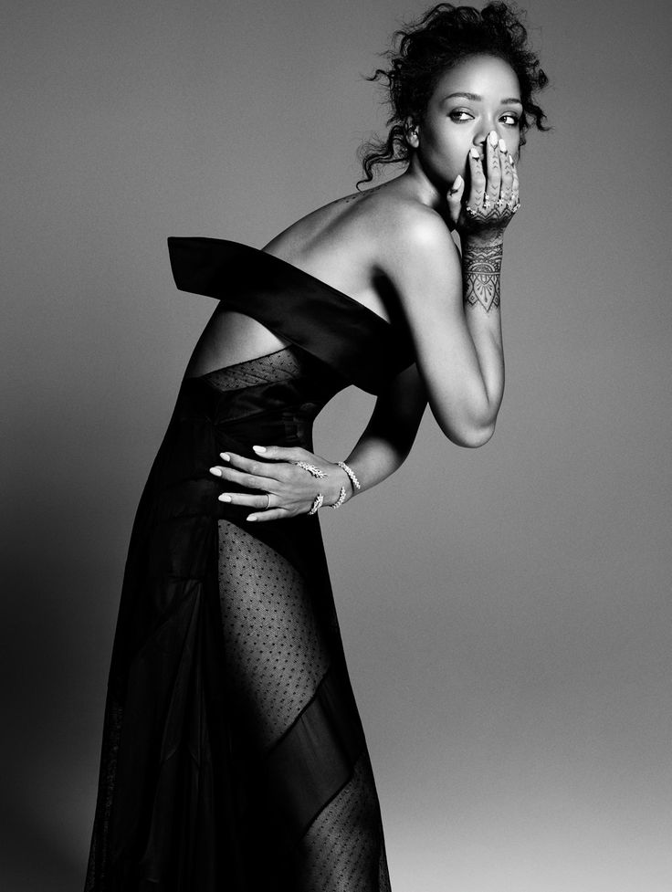 Rihanna shows off her (dangerously sheer) style in the July Issue of ELLE. On sale now! ELLE #StreetStyle Issue