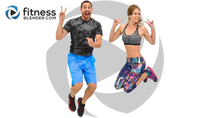 Day 2: Fitness Blender's Free 5 Day Workout Challenge for Busy People - Fitness Blender