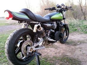 1975 Kawasaki Z1 Restomod R Hinten   – Moto