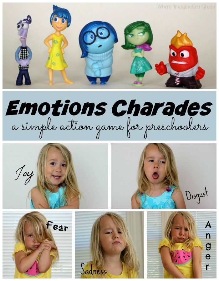 Emotion Charades! Makes teaching emotions to preschoolers fun and interactive!