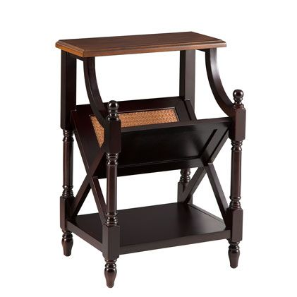 """Find it at <a href=""""http://www.bombaycompany.com/"""" target=""""_blank"""">bombaycompany.com</a>  - Camden Magazine Table"""