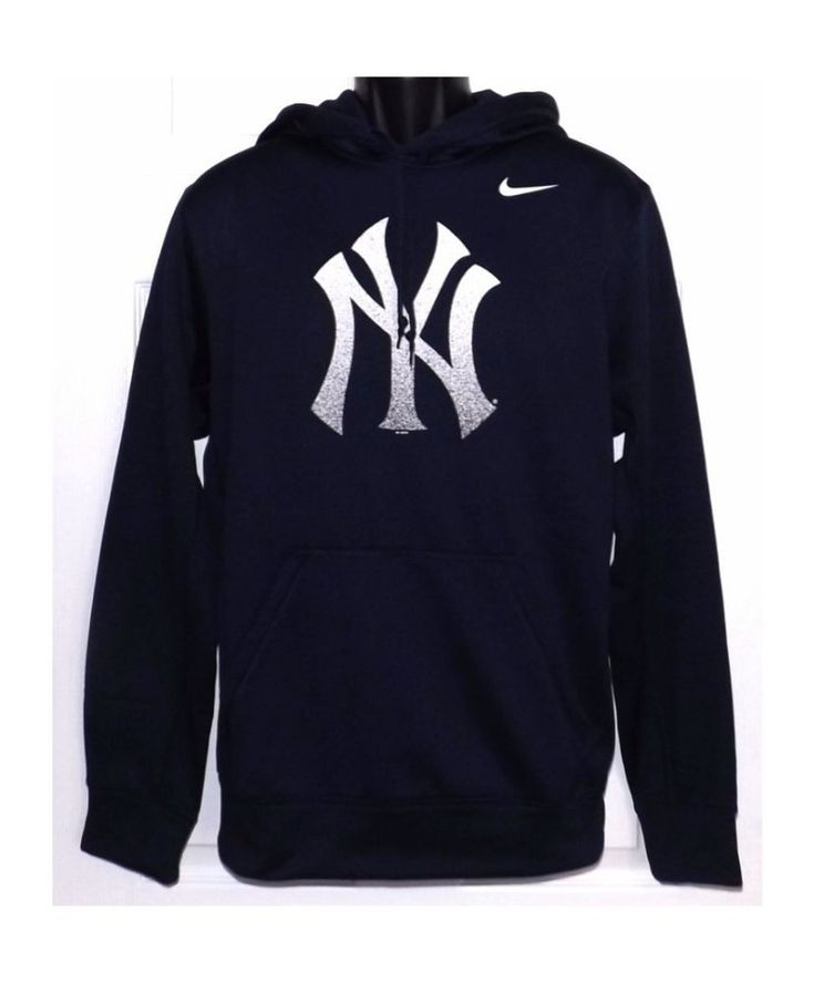 Men's Nike New York Yankees Therma-fit Pullover Hoodie Size 2XL NWT #Nike