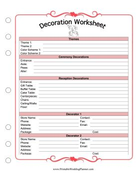 Worksheet Wedding Planner Worksheets 1000 ideas about wedding planning binder on pinterest and weddings