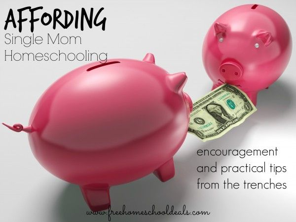 Affording Single Mom Homeschooling...tips and encouragement from the trenches.