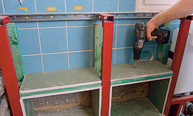 Vorwandelement Verkleiden Alle Bilder Selbst De Badezimmer Renovieren Ablage Bad
