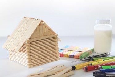 kerajinan stik es krim rumah #unik #lucu #kreatif #bingkai #kerajinan #craft #crossbond #kayu #bambu #woodworker #wooden #wood #bioindustries #lemkayu #perekatan #adhesive