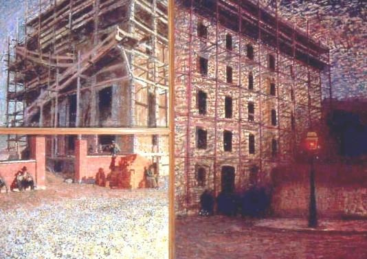 Working from dawn to dusk: Giacomo Balla, Worker's day, 1904.