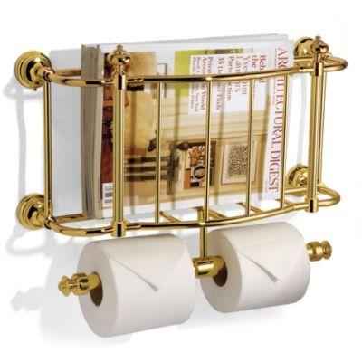 Bathroom Magazine Rack Brushed Nickel Woodworking