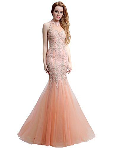 Buy Sarahbridal Women s Tulle Mermaid Prom Dress Lace Applique Evening  Party Gowns SXRK002 online. Sku efbh43710sytx89195 df812338fa53