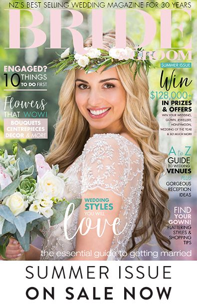 Summer-Issue Welcome to the new issue of Bride & Groom magazine! We're celebrating as summer arrives, weddings are taking place all around the country, and it's our 30th anniversary – yes, it's been 30 years since the first issue of Bride & Groom magazine was published in 1987!