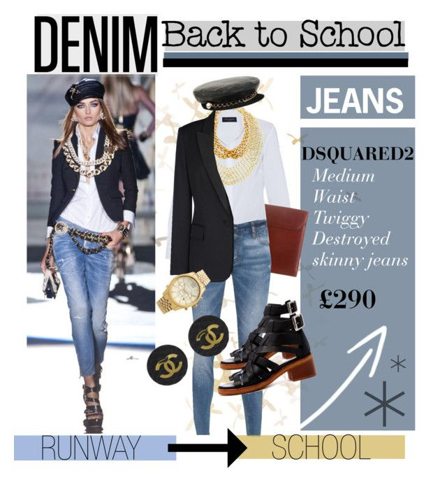 """Back to School: Denim Guide"" by katiegillharrison on Polyvore"