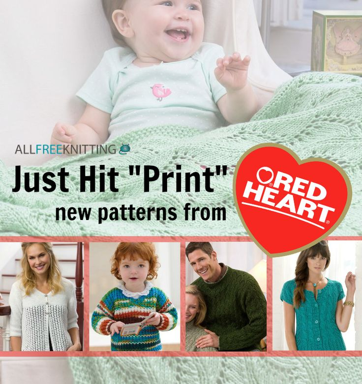 how to knit printable instructions for beginners