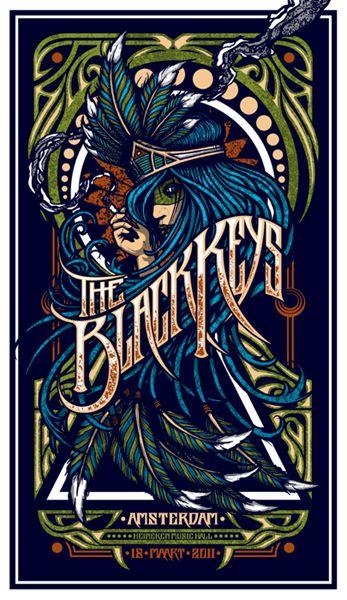 The Black Keys. Heineken Music Hall, Amsterdam, The Netherlands. 03/18/2011 | Brad Klausen