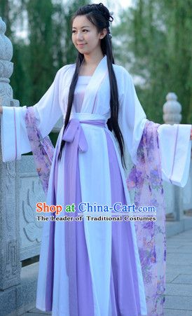 1d8fba272 Top Chinese Han Dynasty Beauty Princess Hanfu Clothing Chinese Hanfu Costume  Hanfu Dress Ancient Chinese Costumes and Hair Jewelry Complete Set for Women  ...