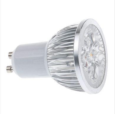 Free Shipping Super Bright 12W GU10 LED Bulb 110V 220V Dimmable Led Spotlights Warm/Cool White GU 10 LED lamp home downlights
