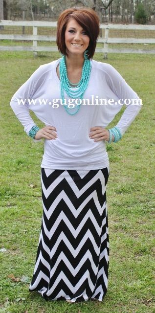 GIDDY UP GLAMOUR  www.gugonline.com  $23.95  A Spot To Snuggle White Slouchy Top
