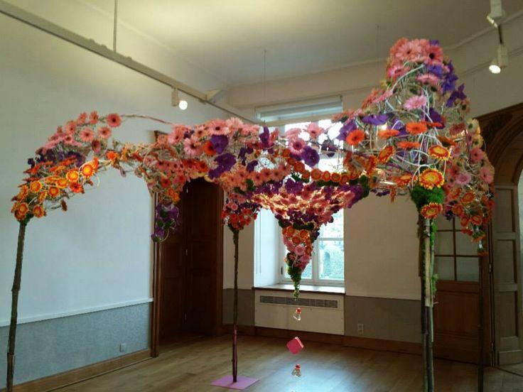 """ Fleur Amour"" , the Intenational Flower Event which took place at Castel Alden Biesen , Bilzen,Belgium"