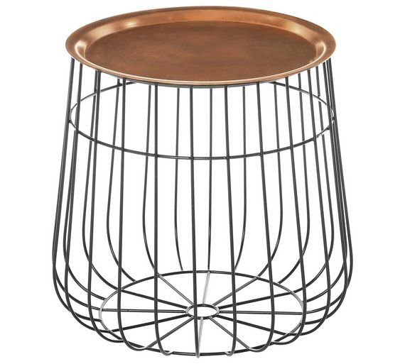 422 best tables images on pinterest occasional tables front buy premier housewares templar tray table copper at argos visit greentooth Choice Image