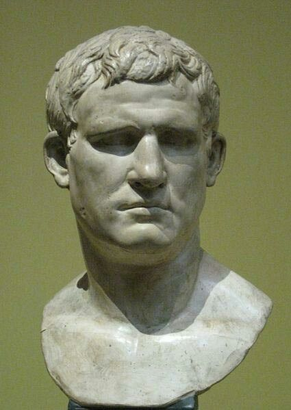 Marcus Vipsanius Agrippa (born 63 bc?—died March, 12 bc, Campania [Italy]), powerful deputy of Augustus, the first Roman emperor. He was chiefly responsible for the victory over Mark Antony at the Battle of Actium in 31 bc, and during Augustus' reign he suppressed rebellions, founded colonies, and administered various parts of the Roman Empire.