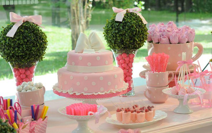 Torta Rosa y Blanca