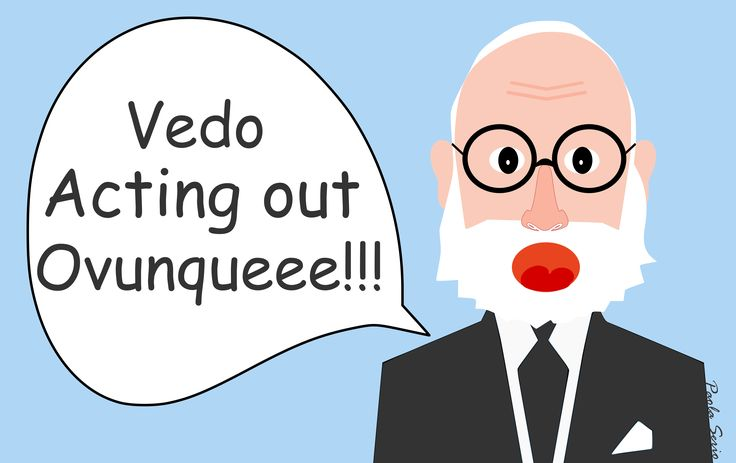 Freud vede acting out ovunque. Simbolizziamo.