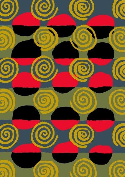 abstract 04 Art Print