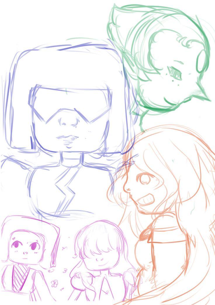Steven's Universe Sketch! by Mokitan