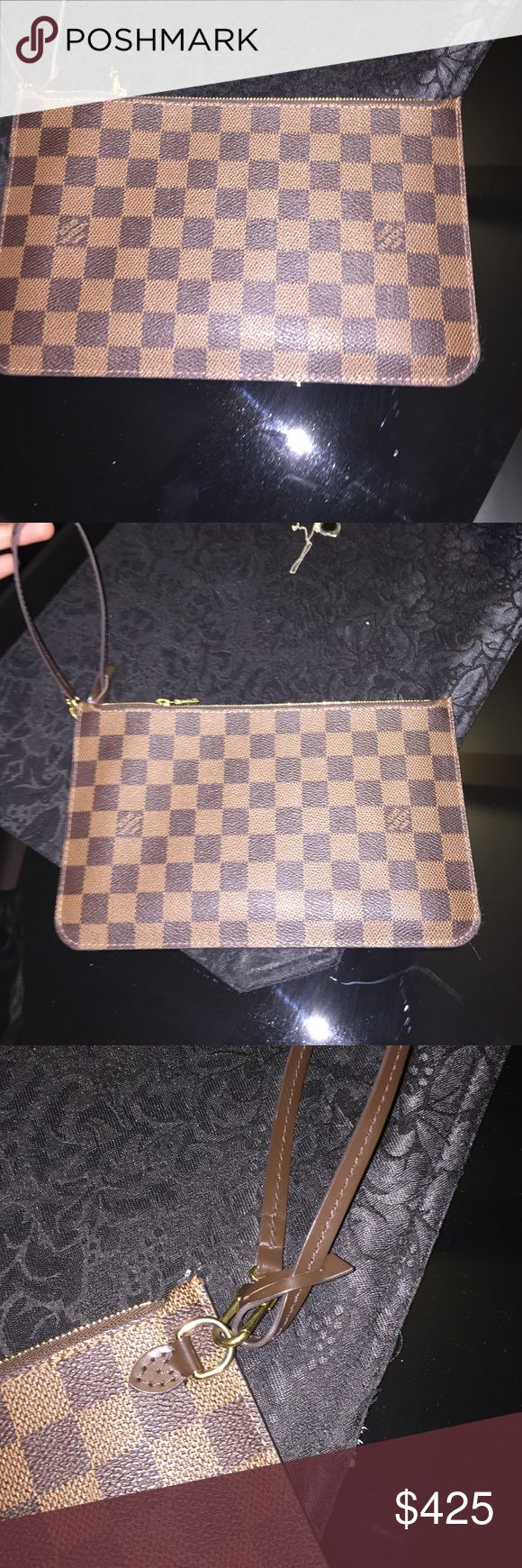 Brand new Louis Vuitton pouch It's brand new, authentic! Louis Vuitton Bags Clutches & Wristlets
